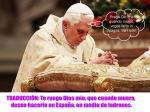 oracion del papa