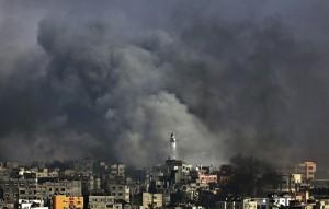 OFENSIVA ISRAELÍ SOBRE LA CIUDAD DE GAZA