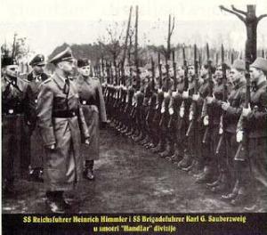 Heinrich Himmler y los musulmanes nazis