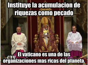 la riqueza vaticana